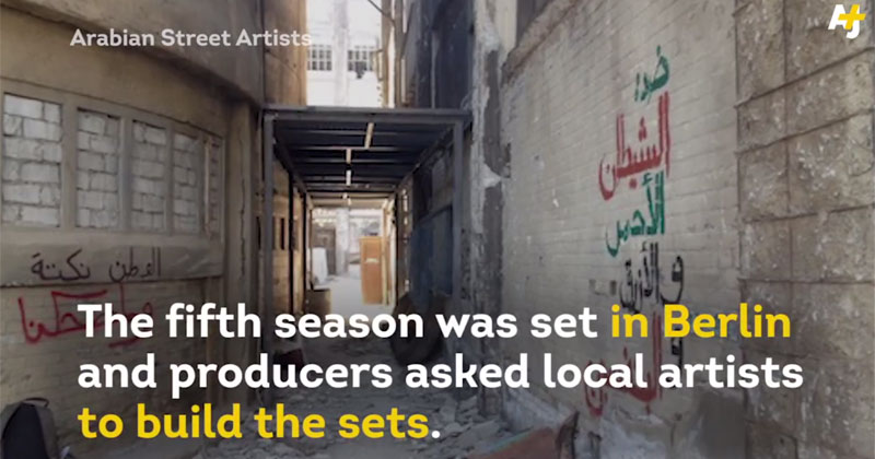 How a Group of Graffiti Artists Hacked the Set ofHomeland