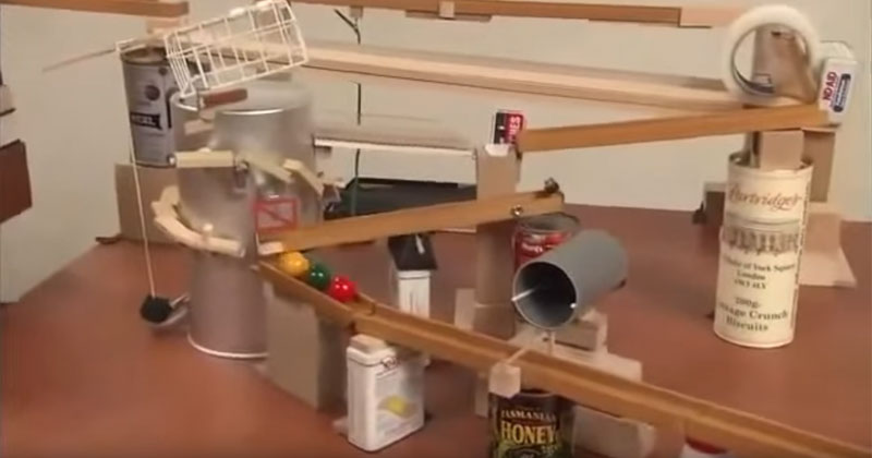 make a rube goldberg machine