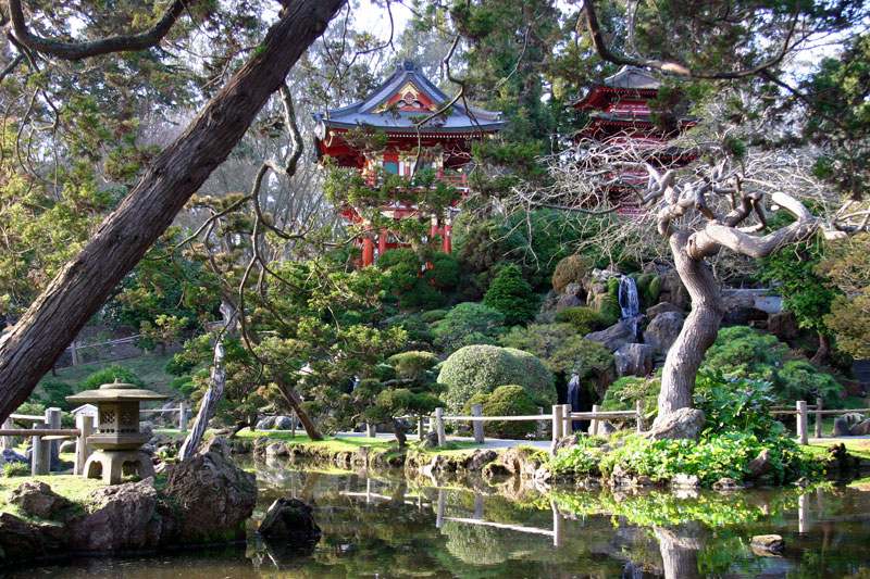 Picture of the day the oldest japanese garden in the - Japanese tea garden san francisco ...