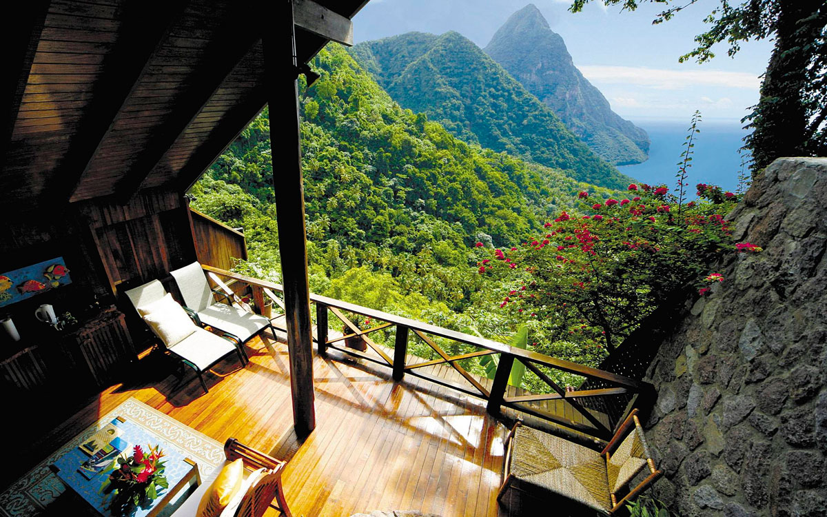ladera resort st lucia open concept Picture of the Day: Open Concept in St Lucia