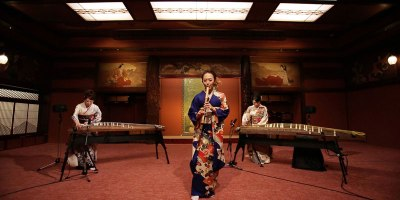 A Smooth Criminal Cover Using Traditional JapaneseInstruments