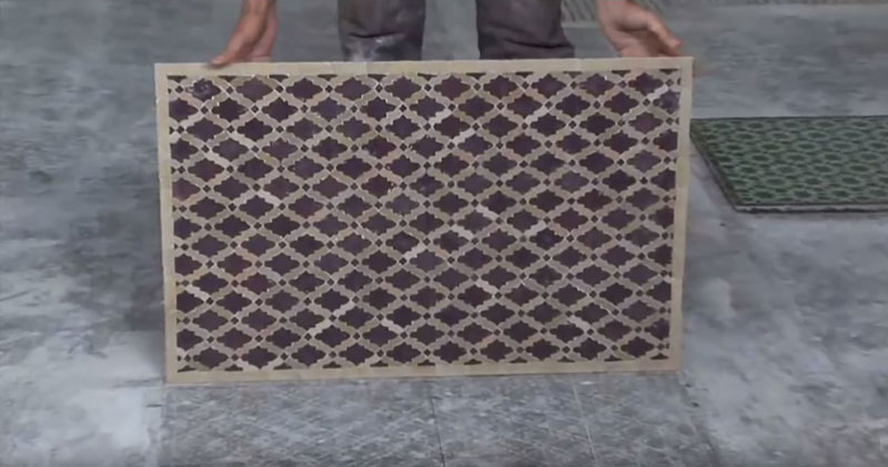 How Moroccan Artisans Create Those Beautiful Mosaic Tiles
