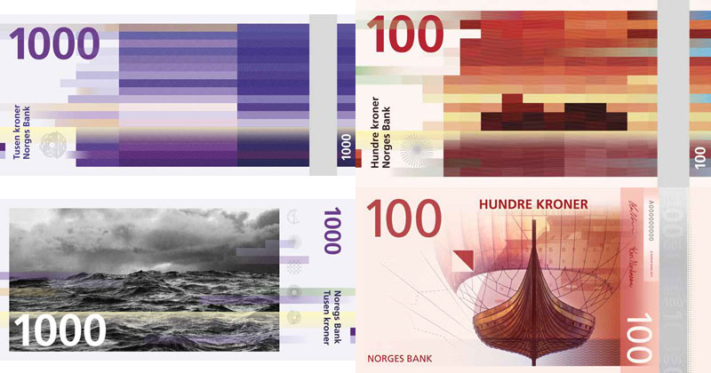 Norway Gets Cool New Banknotes