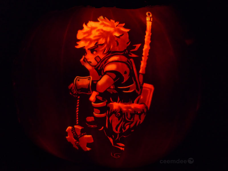 pumpkin art by ceemdee on deviantart (1)
