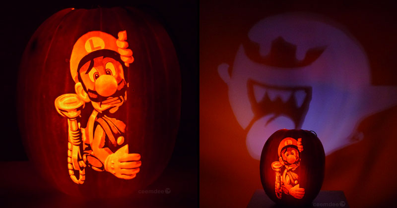 When the Lights Go Off, These Pumpkins Come ToLife