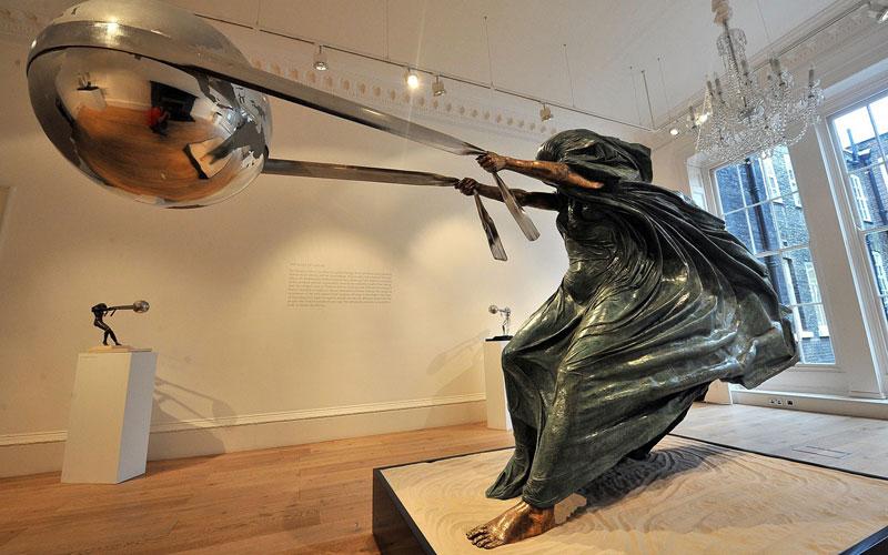 sculptures by lorenzo quinn artist (9)