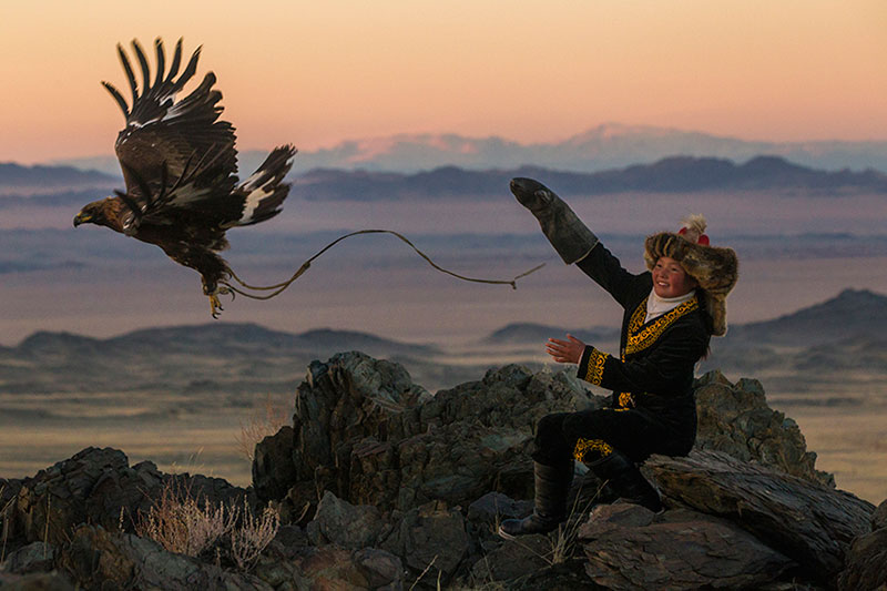 The Future Eagle Hunters of Mongolia
