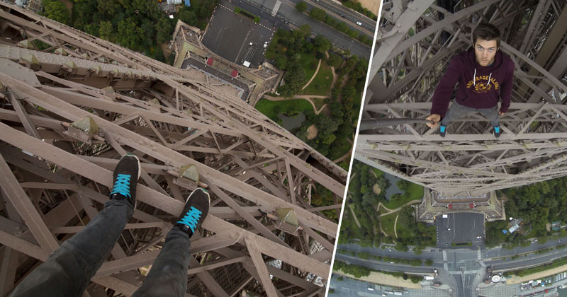 POV Eiffel Tower Climb