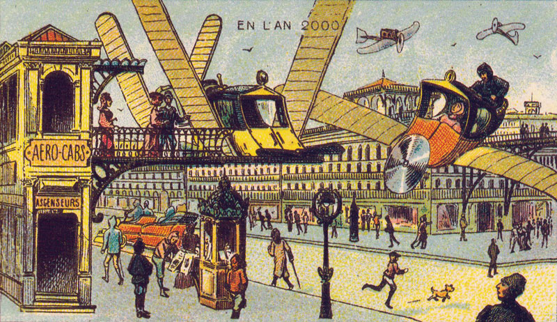 100 Years Ago, Artists Were Asked to Depict the Year 2000, These Were theResults