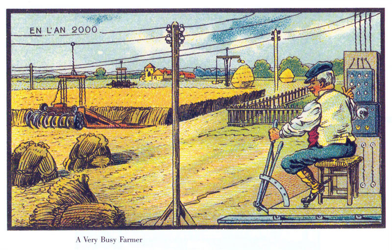 french artists from 1900s depict the year 2000 (10)