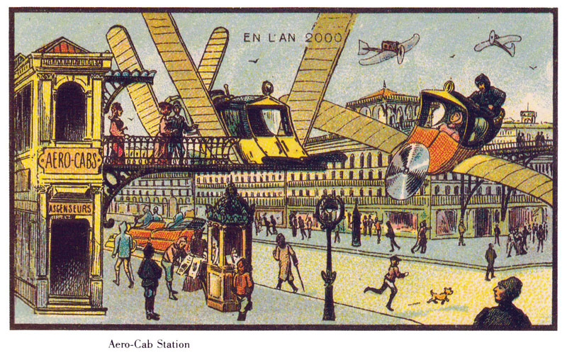 french artists from 1900s depict the year 2000 (2)