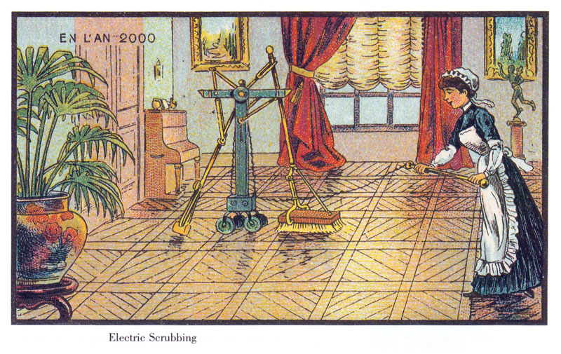 french artists from 1900s depict the year 2000 (5)