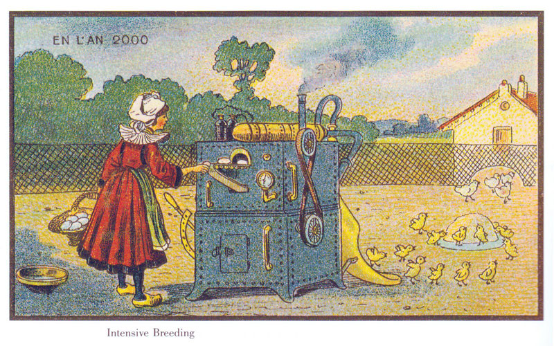 french artists from 1900s depict the year 2000 (7)