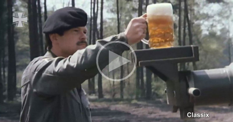 german-beer-on-german-tank