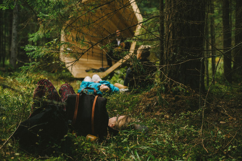 giant megaphones in the forest estonia (8)