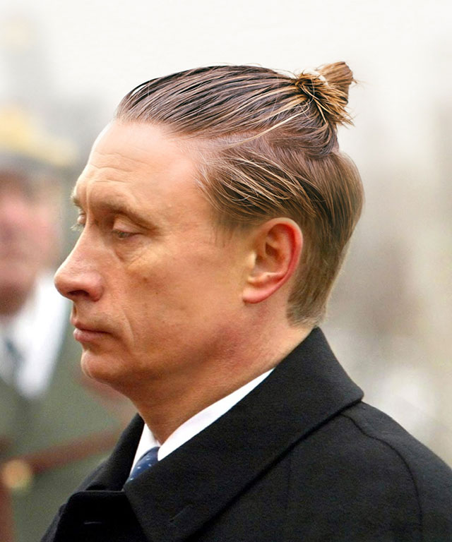 If Politicians Had Man Buns 27 Photos Twistedsifter