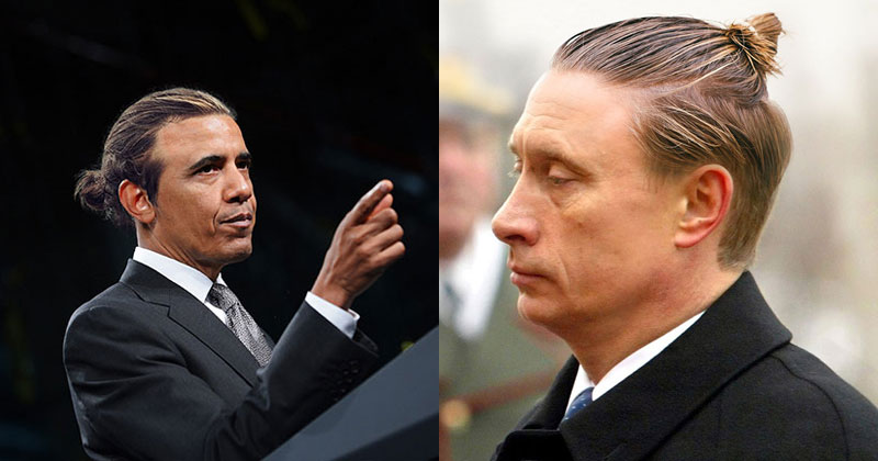 If Politicians Had Man Buns (27 Photos)
