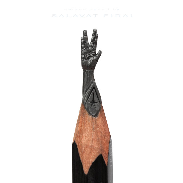 miniature sculptures carved on the tips of pencils by salavat fidai (1)