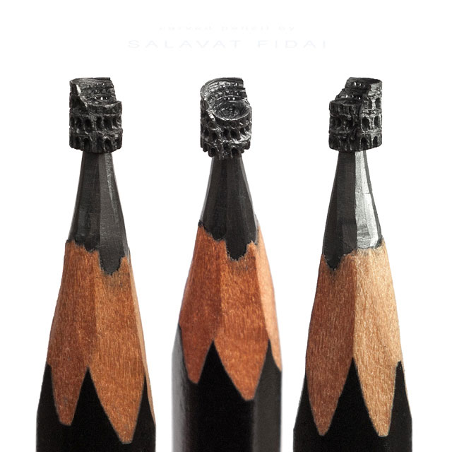 miniature sculptures carved on the tips of pencils by salavat fidai (10)