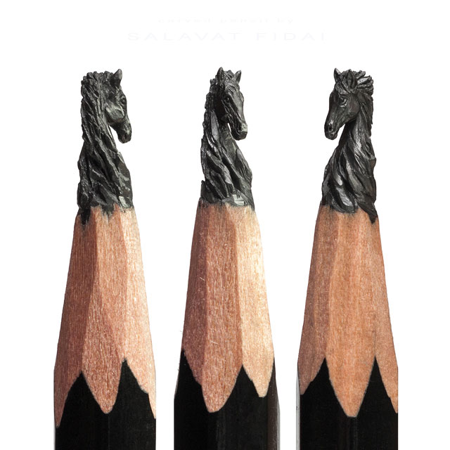 miniature sculptures carved on the tips of pencils by salavat fidai (17)