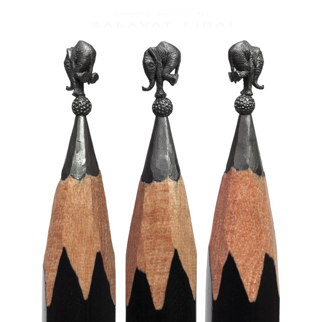 miniature sculptures carved on the tips of pencils by salavat fidai (21)