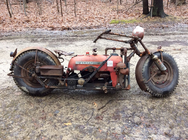 motorcycle made from old tractor by rustfarm (3)