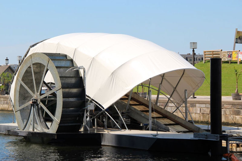 Meet Mr Trash Wheel, the Hero Cleaning Up Baltimore's Harbor
