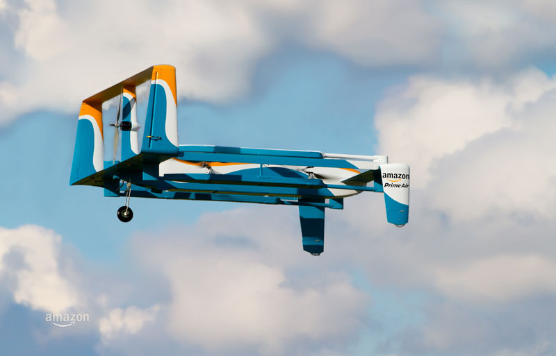 Jeremy Clarkson Unveils Amazon's Latest Delivery Drone