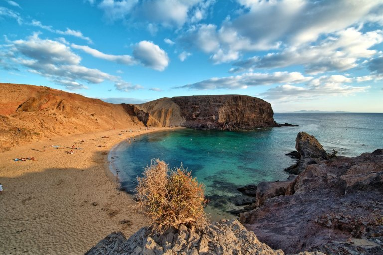 Playa de Papagayo, Canary Islands, Spain