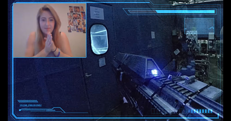 Chatroulette Real Life First Person Shooter: Level2