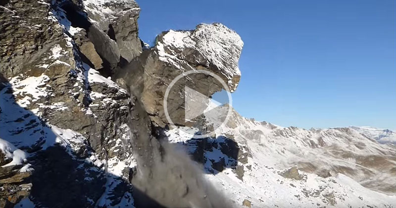 rock-avalanche-video
