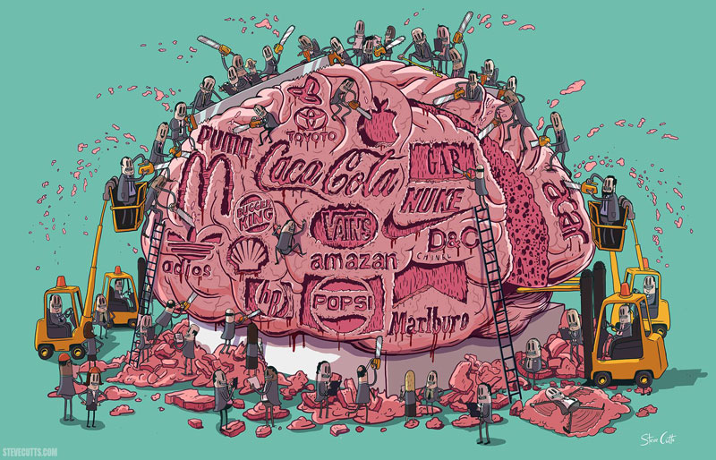 the sad state of todays world by steve cutts (11)