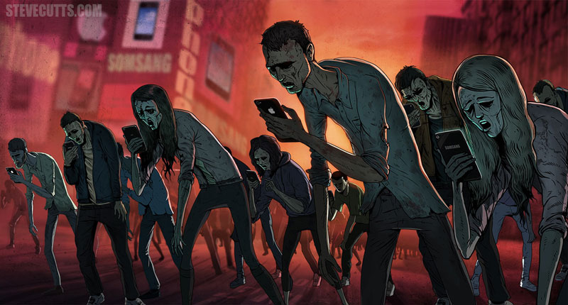 the sad state of todays world by steve cutts (3)