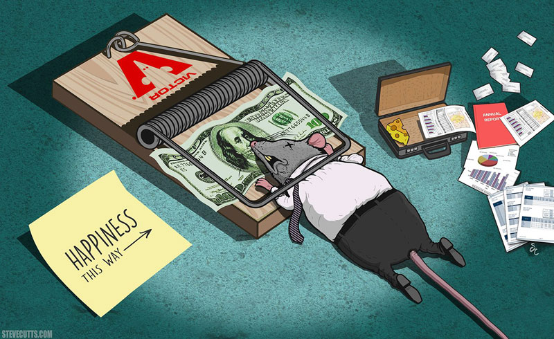 the sad state of todays world by steve cutts (9)