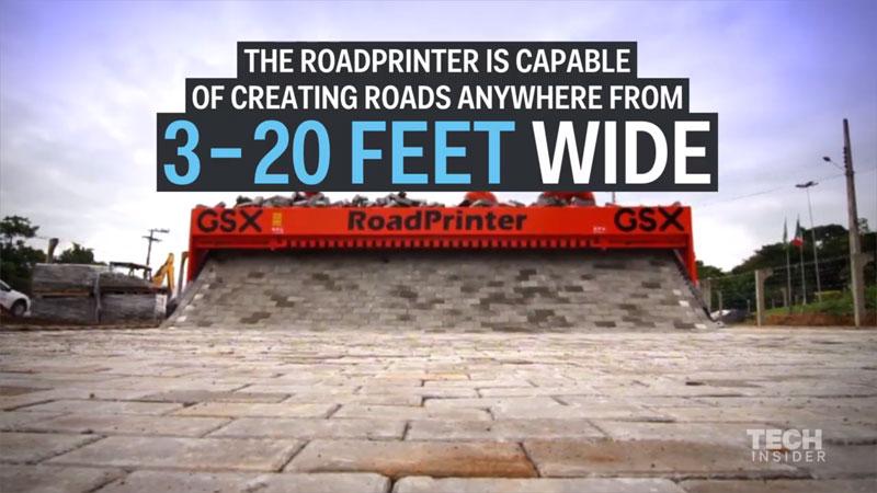 Watch This Machine Prints BrickRoads