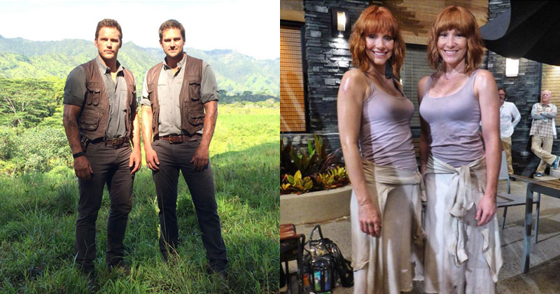 Actors and Their Stunt Doubles (8Photos)