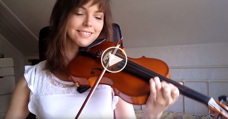 Adult Beginner Films Her Progress Learning the Violin Every Week for TwoYears