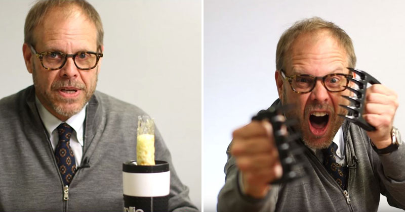 Alton Brown Reviews Ridiculous Kitchen Gadgets on Amazon