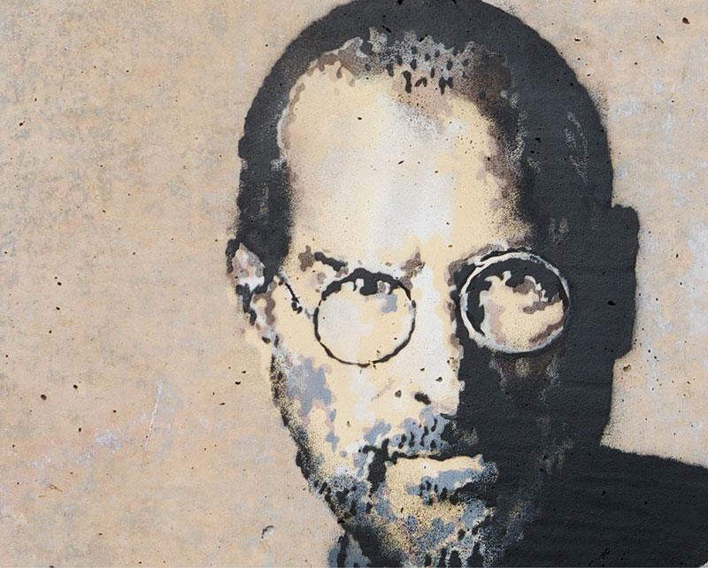 Banksy Mural of Steve Jobs Highlights Refugee Crisis (2)