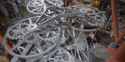 Danny Hillis is Building a 10,000 Year Clock Inside a Mountain in Texas