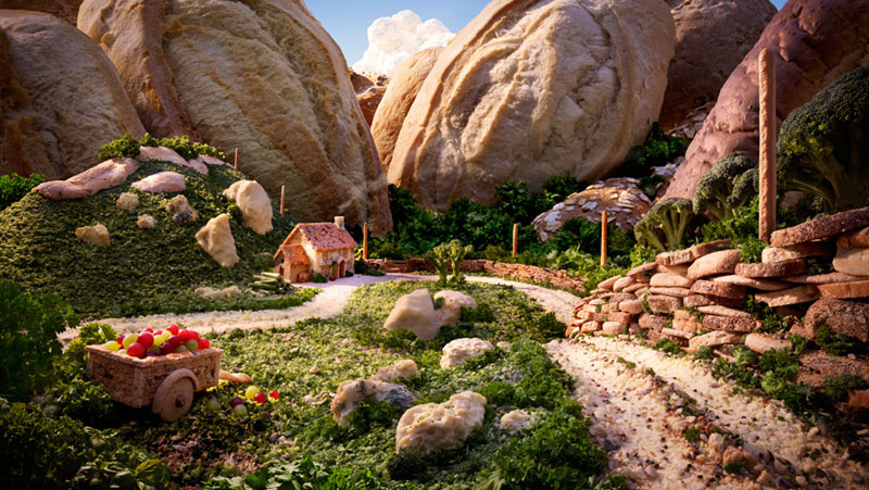 carl warner makes landscapes out of anything (6)