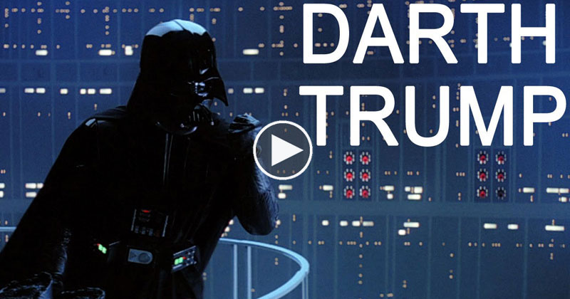 Donald Trump Dubbed Over Darth Vader is Perfect