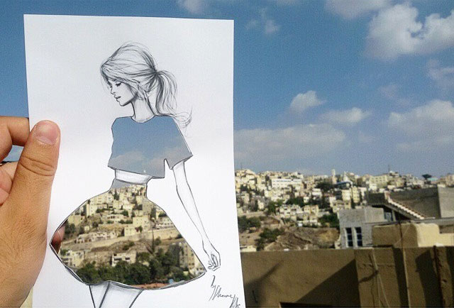 Fashion Cut Outs Use The World Around Them for Their Palette by shamekh bluwi (1)