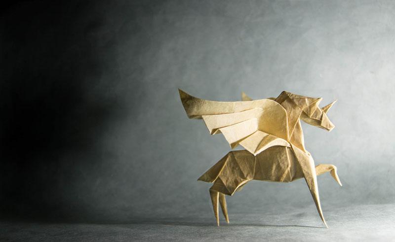 Gonzalo Calvo Folds Beautiful Origami Artworks 9 Photos Twistedsifter