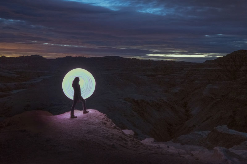 long exposure light painting with led hula hoop by grant mallory (3)