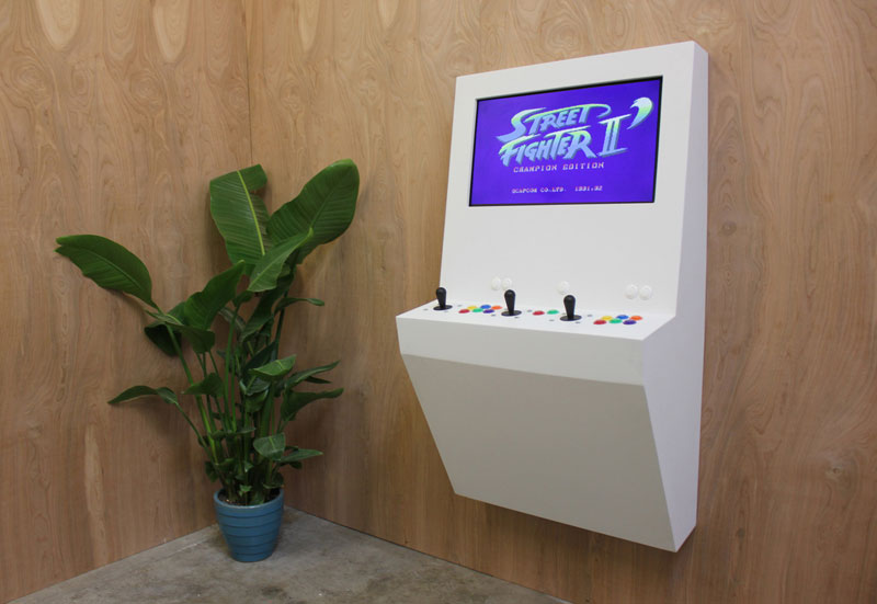 Polycade Puts 90 Arcade Classics Into a Single Contemporary Unit