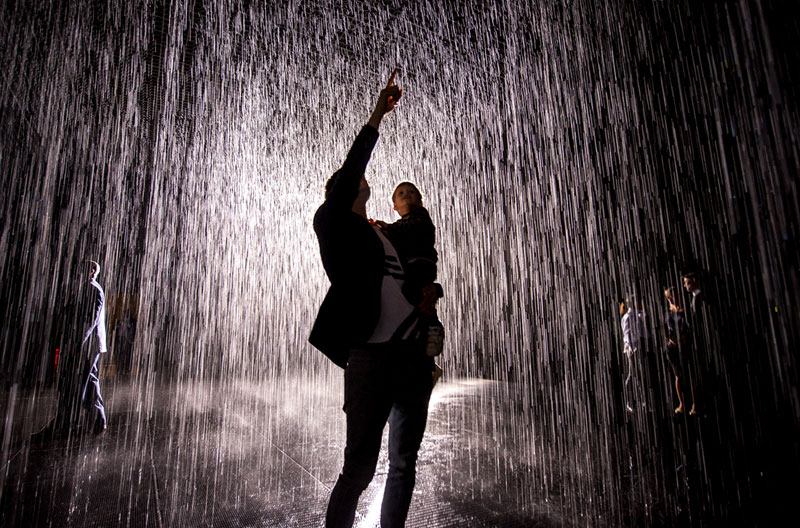 This Art Exhibit Lets You Walk Through Rain Without GettingWet