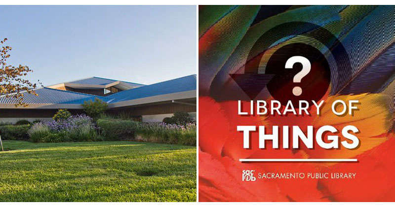 In Sacramento There's a Library of Things That Lets You Borrow Tools, Instruments andMore