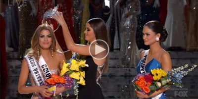Steve Harvey Announces the WRONG Winner of Miss Universe 2015 (Full Clip HD)