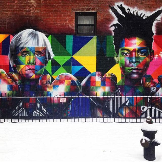 Préférence The Kaleidoscope Street Art Portraits of Eduardo Kobra (24 Photos  MA05